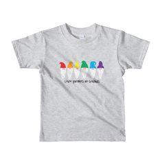 2798bcd6a38e Love gnomes no bounds kids t-shirt, kids gay pride clothing, kids pride  shirt, gay pride shirt, children's pride clothing, kids lgbt tshirt