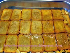 Greek Sweets, Yams, Custard, Hot Dog Buns, Sweet Recipes, Recipies, Bread, Cooking, Desserts