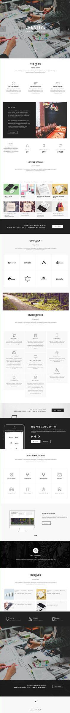 Pride – Creative Multipurpose WordPress Theme