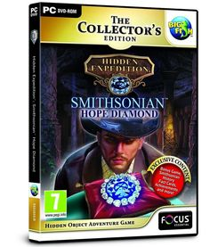 Hidden Expedition Smithsonian Hope Diamond  GAME NEUF