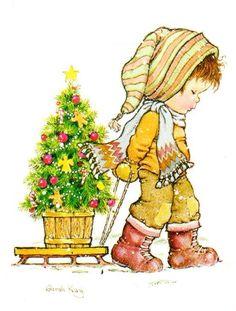 Trasladando el árbol de navidad - Sarah Kay
