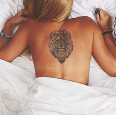 #crown #lion #tattoo More