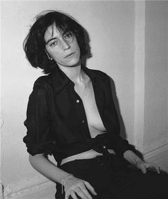 "mpdrolet: ""Patti Smith, New York, NY, 1974 Frank Stefanko """