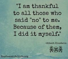 Thankful quote via www.YourBeautifulLife.org