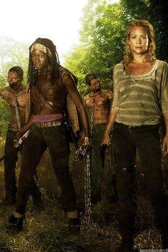 Michonne & Andrea-The Walking Dead