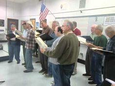Wallingford Chorus Rehearsal  - There Is Nothing Like A Dame