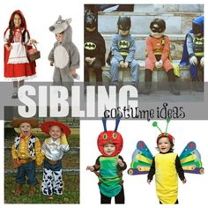 The Amazing, Awkward & Hilarious: 25 Halloween Costume Ideas For Siblings