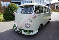 Wedding Car Hire Rochester | The White Van Wedding Company Wedding Car Hire, Wedding Company, Court Weddings, Preston Court, White Vans, London Wedding, Vw Camper, Vintage