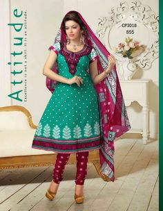 Latest Fashionable simple salwar kameez Wholesaler,Supplier,Exporter,Stockist and Manufacturer,Bollywood Celebrity Replica Anarkali Suit Dress materials,Readymade Designer Punjabi Wedding collection,Casual Printed Long Cotton exclusive party wear,best price sale tradditional indian womens clothes Churidar Suits, Anarkali Suits, Salwar Kameez, Suit Fabric, Punjabi Wedding, Bollywood Celebrities, Cotton Style, Cotton Dresses, Party Wear