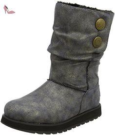 Skechers  Keepsakes Rhodium, Bottes femme - Noir - Noir, 41 EU - Chaussures skechers (*Partner-Link)