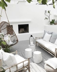 Terrace house design ideas, inspiration & pictures │homify - - Here you will find photos of interior design ideas. Get inspired! Furniture, Dream Patio, Summer Home Decor, Terrace Design, Outdoor Lounge, Patio Decor, Home Decor, House Interior, Apartment Decor