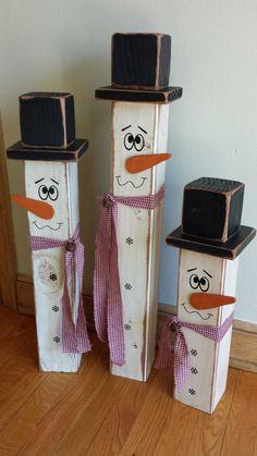 My version of 4x4 snowmen :)