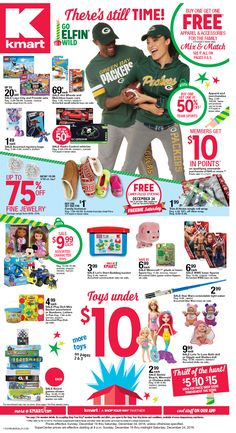 Kmart Weekly ad December 18 -24, 2016 - http://www.olcatalog.com/grocery/kmart/kmart-weekly-ads.html