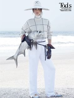 temporada de pesca: hilary rhoda by zee nunes for vogue brazil august 2014