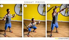 This week's TRX Exercise Series features a combination of suspension and rip trainer moves that will target a variety of muscle groups throughout the body. As with most (if not all) TRX exercises, every move performed will engage the core in some manner, therefore making for a more effective