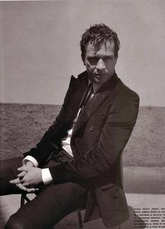 James Purefoy - Seriously, this dude has some sort of magnetic pull.....
