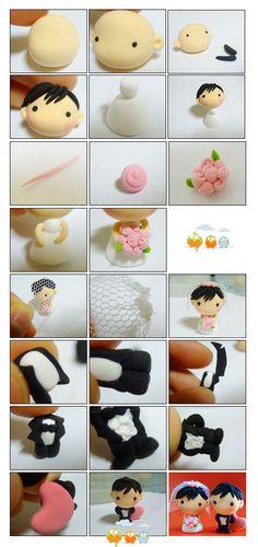 muñecos de boda                                                                                                                                                     Más