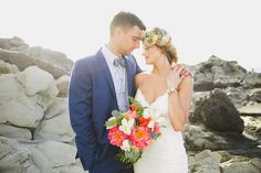 Maui wedding on the beach // boho wedding in Maui
