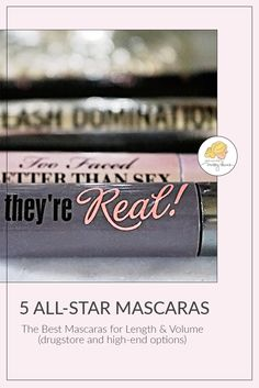 Take it from a fellow mascara addict, this list show the best mascaras EVER! It includes the best drugstore mascaras and premium brands, plus it shows samples of each one in action so you can see how well they work. Blinc Mascara, Mascara Brush, 3d Fiber Lash Mascara, Mascara Tips, Beauty Routine Calendar, Beauty Routines, Beste Mascara, Best Drugstore Mascara, Mascaras