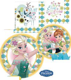 Disney Frozen Fever Elsa Anna Olaf Birthday Party Pack Birthday Party Supplies #Amscan #BirthdayParty