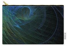 Carry-all Pouch featuring the digital art Technology  by Elena Ivanova IvEA  #ElenaIvanovaIvEAFineArtDesign #Decor #Gift #CarryAllPouches