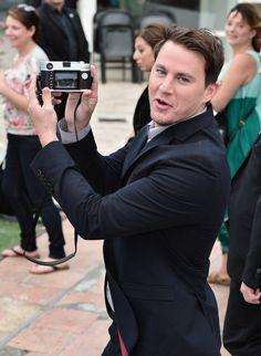 Pin for Later: Sagt 'Cheese' für Channing Tatum! Er zeigte seine Bilder