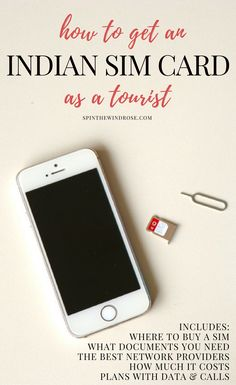 Getting an Indian SIM card for your phone needn't be a difficult task when you travel to India - here's a guide to exactly what you'll need and what to do.  India | SIM Card | Network Provider | Travel | Phone | Wifi | Data | Coverage | spinthewindrose.com