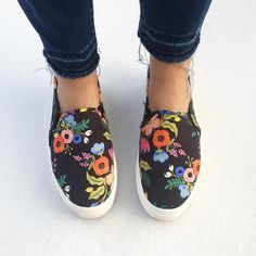 Rifle Paper Co and Keds collaborate for the cutest most practical shoes around!