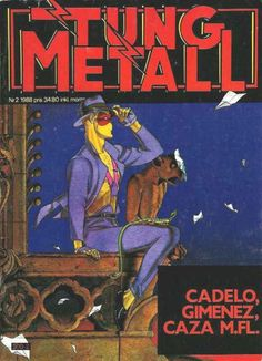 Cover for Tung metall (Epix, 1986 series) #2/1988