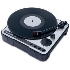 Numark PT 01 portable vinyl player