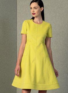 Vogue 1404 Ralph Rucci Misses' Dress Vogue Patterns, Fall Patterns, Miss Dress, New Dress, Collor, Thing 1, Vintage Style Dresses, Dress Vintage, Costume