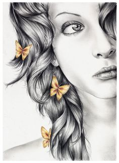Princess of Butterflies by nabey on DeviantArt
