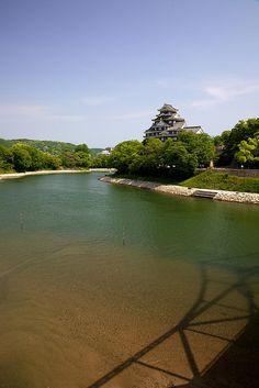 岡山城(岡山) Okayama castle, Okayama, Japan