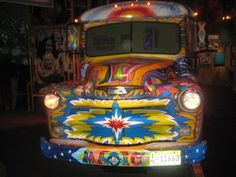 The bus at the Woodstock Museum at Bethel Woods
