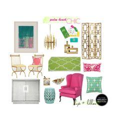 Tropical Glam home decor Beach Chic Decor, Palm Beach Decor, Palm Springs Style, Retro Home Decor, Florida Home, Interior Design, Interior Decorating, Interior Colors, Decorating Ideas