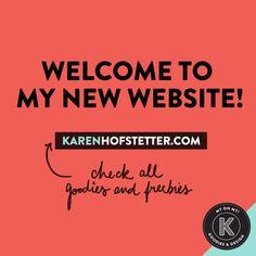 K | Goodies & Design  www.karenhofstetter.com