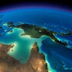 Une série de magnifiques et impressionnantesphotographies de la NASA, qui nous dévoile la beauté nocturne de la Terre vue de l'espace. Des superbes images