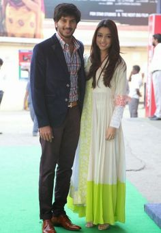 Dulquer Salmaan With his Wife