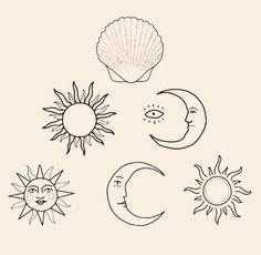Image can include: Draw - Draw - draw diy tattoo images - tatto Compass Tattoo, Surfing Tattoo, Sun Drawing, Drawing Tips, Tatuagem Diy, Geometric Tatto, Handpoked Tattoo, Tattoo Zeichnungen, Diy Tattoo