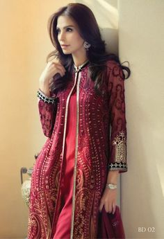 Maria.B MBROIDERED Eid ul Azha Collection 2015