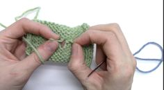 Video tutorial to fix a hole in your knitting with duplicate stitch.