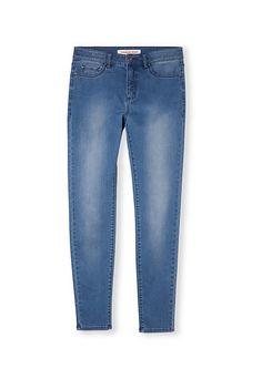 Mid Rise Skinny Crop Jean