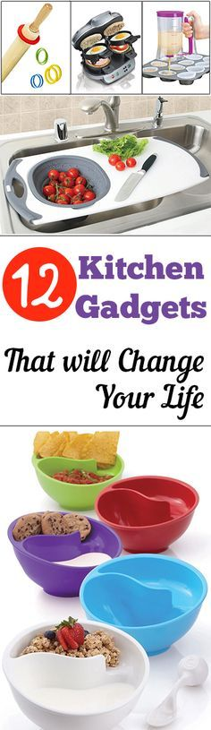 12 Kitchen Gadgets That will Change Your Life Definitely a cool photo. Find even more useful gadgets at homelifenuggets.com