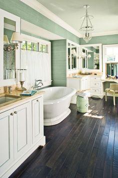 Calming Bathroom Retreats. Make Your Escape