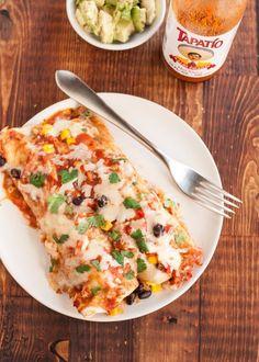 Recipe: Slow-Cooker Black Bean Enchiladas — Dinner Recipes from The Kitchn