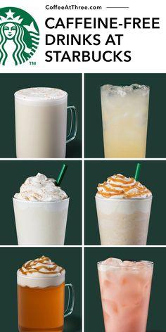 Starbucks Fall Drinks, Starbucks Menu, Starbucks Frappuccino, Cinnamon Dolce Syrup, Caffeine Free Tea, Peach Juice, Good Healthy Recipes, Tea Recipes, Yummy Drinks
