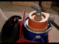 Building a Cyclone for a vacuum or shop vac - YouTube