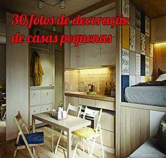 Decorar ambientes pequenos é mais fácil do que parece. + de 30 fotos para você se inspirar e conseguir a melhor decoração de casas pequenas.