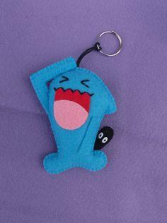 chaveiro wobbuffet - pokémon - encomendas pela minha página no facebook https://www.facebook.com/Boutique-Geek-190519287960073/?fref=ts