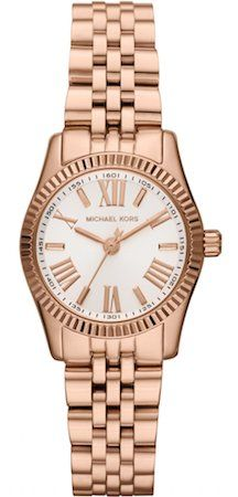 Shop Petite Rose Golden Stainless Steel Lexington Three-Hand Watch from Michael Kors at Neiman Marcus Last Call, where you'll save as much as on designer fashions. Michael Kors Rose Gold, Michael Kors Tote, Michael Kors Watch, Mk Purse, Expensive Watches, Birthday Gifts For Girls, Girl Birthday, Elegant Watches, Women Brands